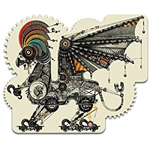 Artifact Puzzles – Diego Mazzeo Mechanical Griffin Wooden Jigsaw Puzzle