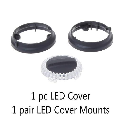Aawsome - Piezas de reparación de cubiertas de LED para DJI Spark ...