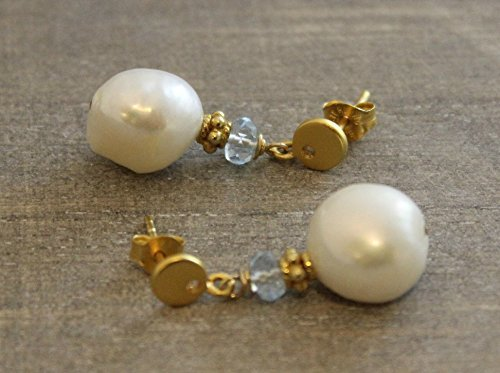 cultured-freshwater-pearl-and-blue-topaz-drop-earrings-ear-posts