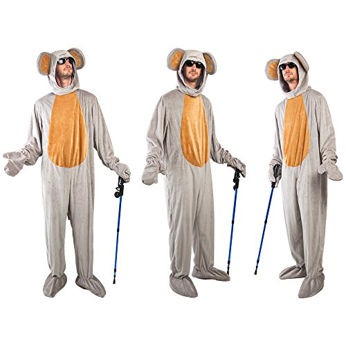 Three Blind Mice Group Costume Set Grey