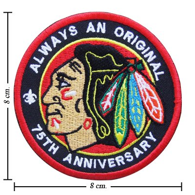 Chicago Blackhawks Style-2 Embroidered Iron On Patch