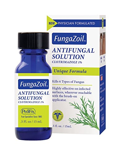 FungaZoil | Antifungal Solution | Foot Specialists | Bottle (0.5 fl. oz.) ()