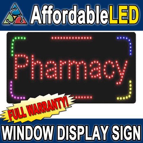 Affordable LED Pharmacy LED Window Display Sign (Size 12