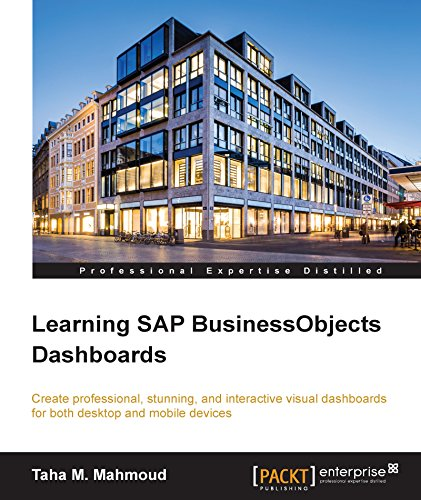 Learning SAP BusinessObjects Dashboards Pdf