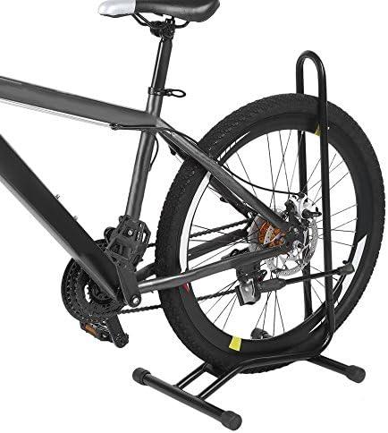 L soporte de pie para bicicletas aparcamiento de ciclismo ...