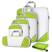 Compression Packing Cube 6-teilig, Gonex robust & langlebig | Verpackungswürfel, Packtaschen, Kleidertasche, Koffer…