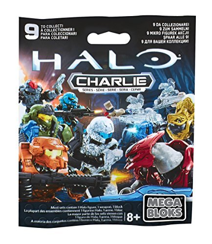 Mega Construx Halo Micro Charlie Series Blind Pack Toy (Styles May Vary)