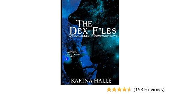 the dex files halle karina