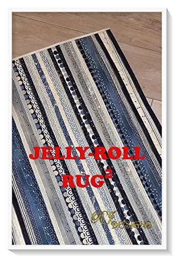RJ Designs Jelly Roll Rug Squared Ptrn