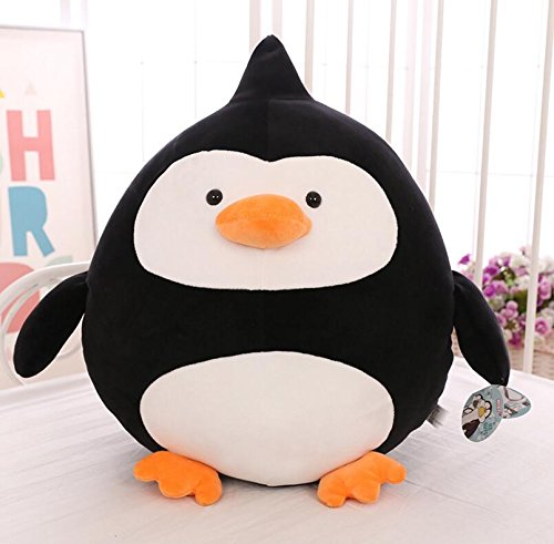 Pinjewelry Home Decoration Soft Toys Creative 40cm Plush Penguin Doll Penguin Plush Soft Toy Penguin for Kid Children Gift (Black) by Pinjewelry