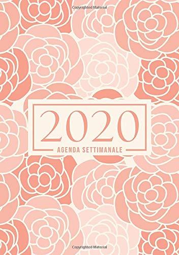 Fiori Bianchi 2.Amazon Com Agenda Settimanale 2020 1 Gennaio 2020 Al 31 Dicembre
