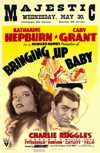 Bringing Up Baby Poster Movie 11x17 Katharine Hepburn Cary G