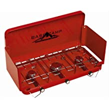 Basecamp by Mr. Heater Three Burner Stove (Red)