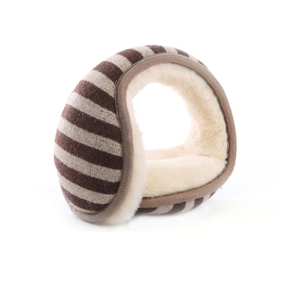 RuYa Adult Winter Earmuff Folding Plush Ear Warmer Outdoor Unisex Ear Cover