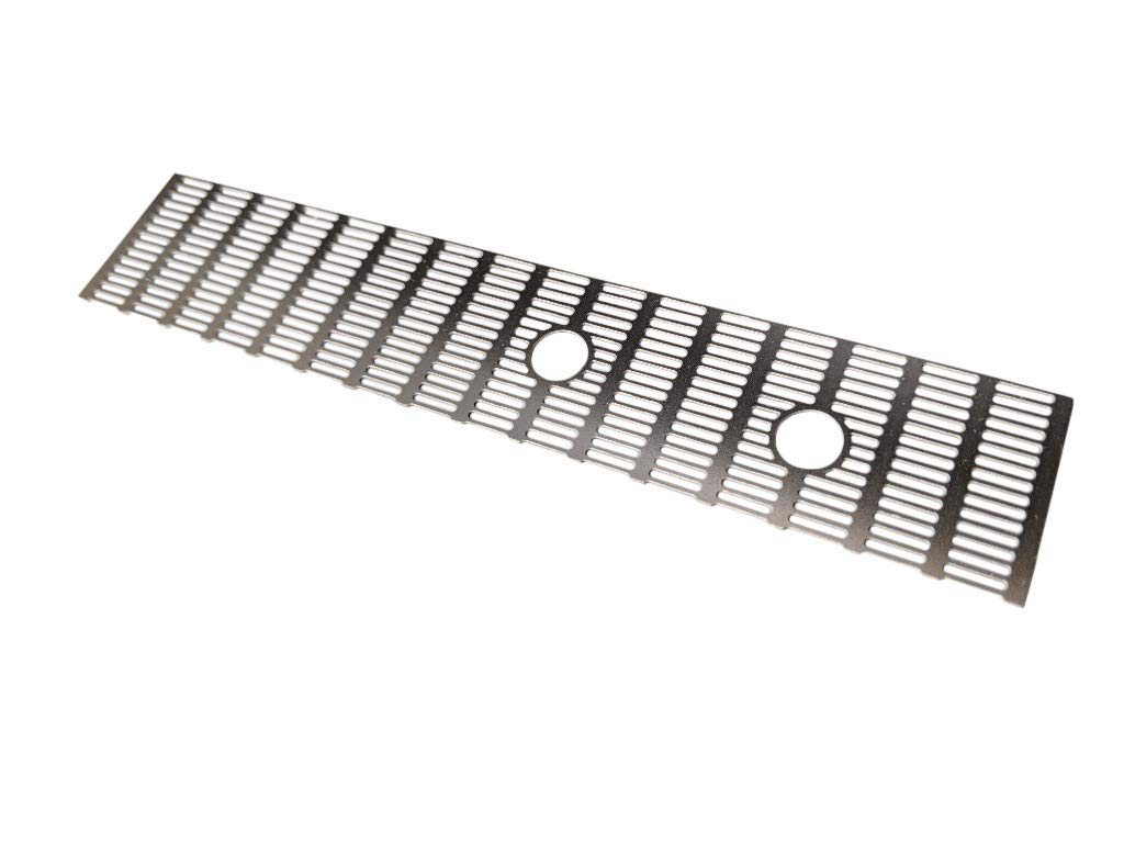 Stainless Steel Metal Grate Greeblie for HIC Carbonite Build