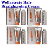 4 BOXES WELLA STRATE WELLASTRATE INTENSE STRAIGHTENER STRAIGHTENING HAIR CREAM FREE SHIPPING from ThaiTopTrade