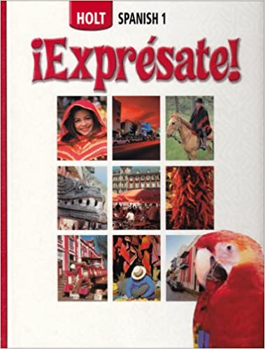 Expresate student edition level 1 rinehart and winston holt expresate student edition level 1 fandeluxe