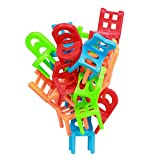 iPuzzle 18 Pieces Chair Stacking Game Intelligent Balance Toys for Kids