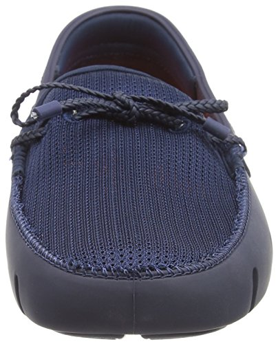 Braided Marine 002 Lace Bleu Swims Homme Mocassins 7qdxw8