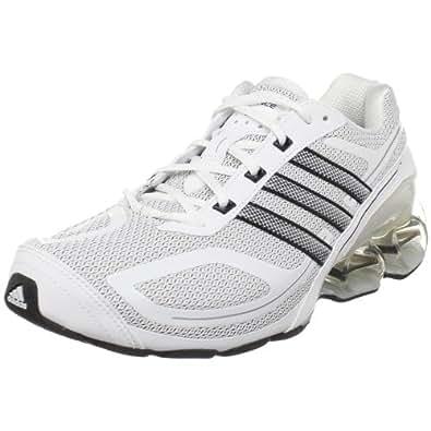 adidas Men's Devotion PB Running Shoe,White/Black,15 M US