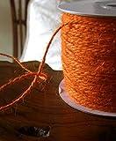 Dexon Power Jute Twine Orange 100 yds