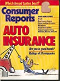 CONSUMER REPORTS Toyota Camry Eagle Medallion Nissan Maxima Volvo 240 10 1988