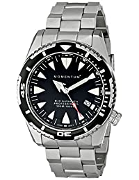 Momentum 1M-DV30B0 Men's M30 Automatic Sport Wrist Watches, Black