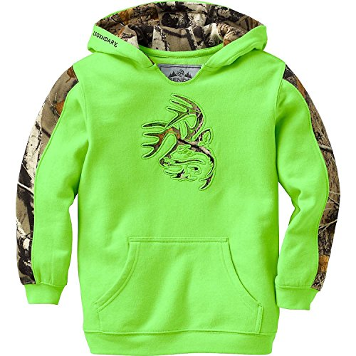 - Legendary Whitetails Youth Outfitter Hoodie Optic Lime X-Large