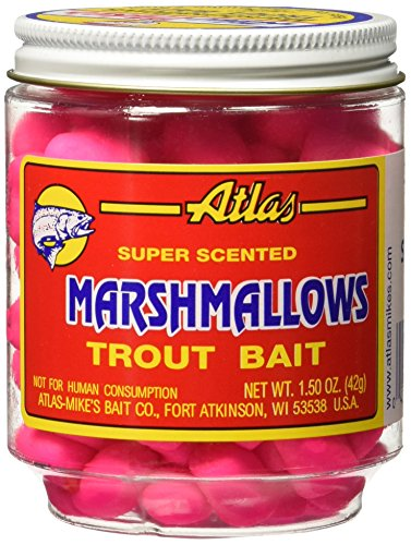 Atlas Mike's 30035 Marshmallows, Pink/Shrimp ()