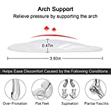 Dr. Foot's Arch Support Shoe Insoles for Flat