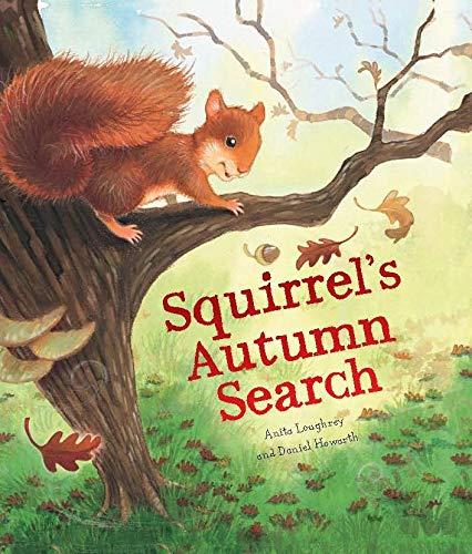 Animal Seasons: Squirrel's Autumn Search: 1: Amazon.co.uk: Loughrey, Anita, Howarth, Daniel: 9781848358782: Books
