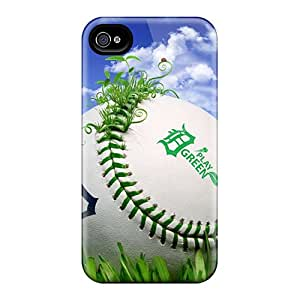 Anti-scratch And Shatterproof Sports Baseball Detroit Tigers Phone Cases For Iphone 6plus/ High Quality Cases