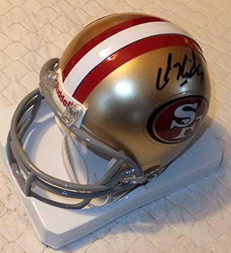 49ers Autographed Signed Mini Helmet Including PSA/DNA #V78020 ()