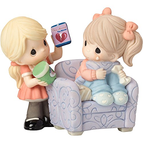 Precious Moments 162004 Where Would I be without You, Bisque Porcelain Figurine