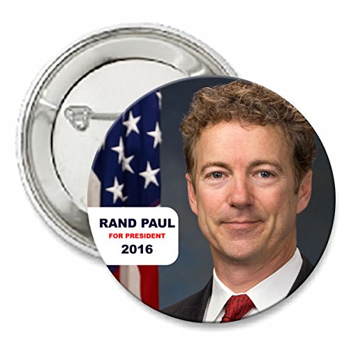 Rand Paul For President 2016 Button - Rand Paul Presidential Button - 2""