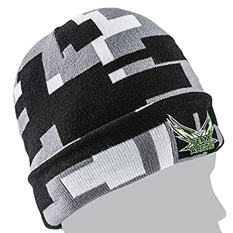 db7c0c13f03 Amazon.com  Arctic Cat Unisex Adult Beanies   Knit Hats Black One Size   Automotive