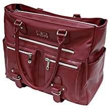 6 Pack Fitness Expert Renee Meal Management Tote Merlot w/Removable Core