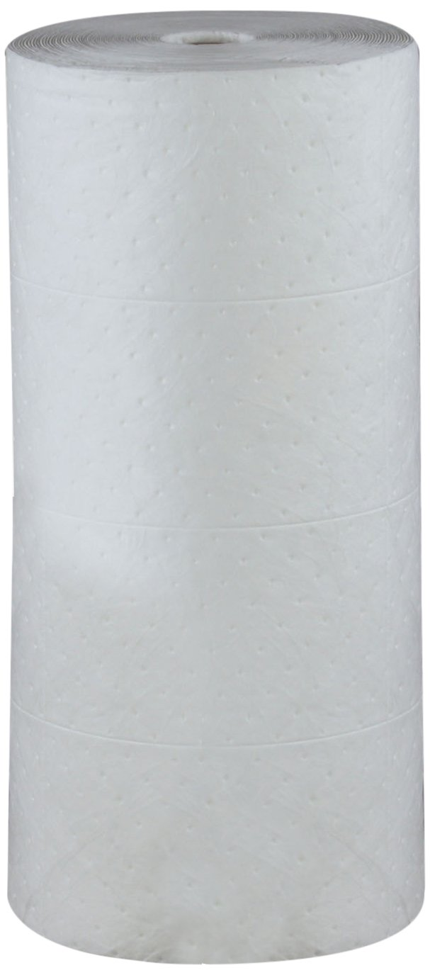 ESP 2MBWR Polypropylene Medium Weight Meltblown Oil Only Absorbent Non-Bonded Roll, 150' Length x 30'' Width by ESP