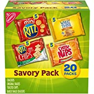 Nabisco Savory Cracker Variety Pack, 20 count pack