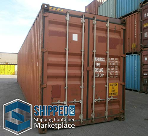 40ft Used General Purpose Steel Shipping Container in New Haven, Connecticut/Secure Outdoor, Portable Storage Shed / 40' Cargo Container/Container Home/Emergency Shelter/Vacation Home (Used 20 Foot Shipping Container For Sale)