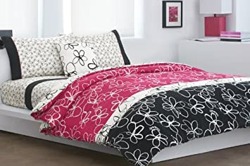 dkny scribble daisy comforter set donna karan bedding