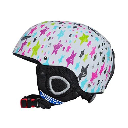 TiTa-Dong Children Kids Ski Snowboarding Helmet Roller Skating Protecter Helmet for Climbing Cycling Roller - Sidecut Women