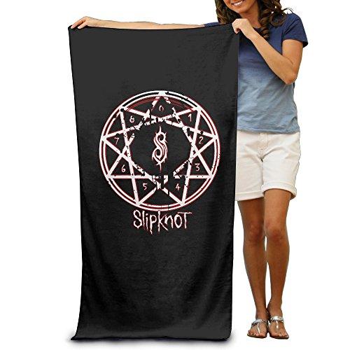 GOww Music Slipknot Logo Beach Towel For Adults / 31.5'' (Simboli Di Halloween)