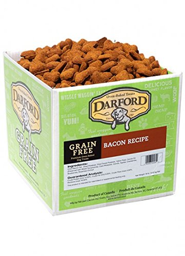 Darford Naturals Treat Grain-Free Bacon Treat, Mini/19 lb by Darford