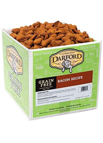 Darford Naturals Treat Grain-Free Bacon Treat, Jumbo/19 lb by Darford