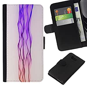 eJoy---La carpeta del tirón la caja de cuero de alta calidad de la PU Caso protector - Samsung ALPHA G850 - --Neon Pink Stream