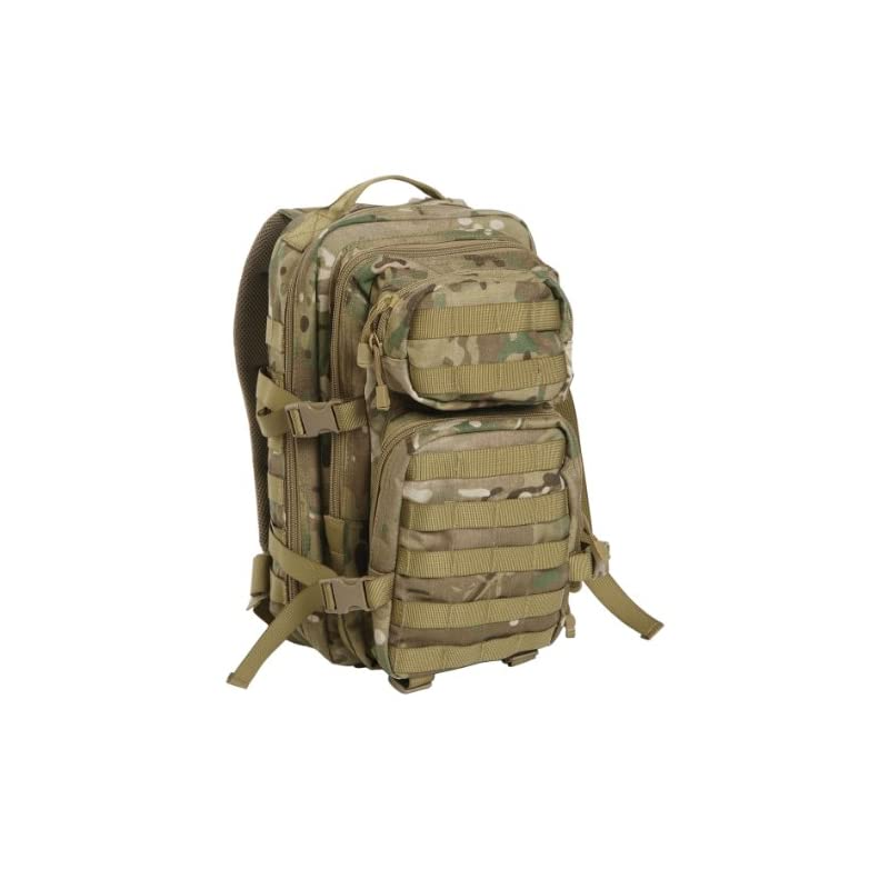 US Assault Pack Backpack, mens, 14002049, Multitarn., S