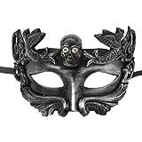 #7: Mens Masquerade Mask Vintage Greek Roman Party Venetian Festival Mask, Novel Design for Parties