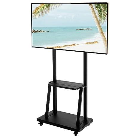 Amazon com : SSLine Mobile TV Stand for 40-80