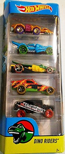 Hot Wheels 2018 Dino Riders 1:64 Scaled 5-Pack
